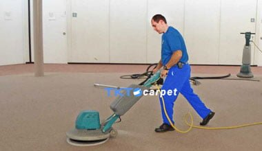 dịch vụ giặt thảm bàn chà TKT Carpet