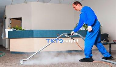 dịch vụ giặt thảm hơi nước nóng TKT Carpet