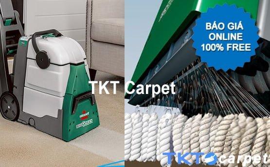 báo giá giặt thảm phun hút TKT Carpet