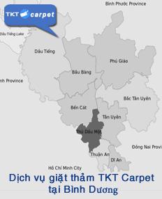 dịch vụ giặt thảm tại Bình Dương - TKT Carpet