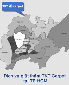 dịch vụ giặt thảm tại TPHCM - TKT Carpet