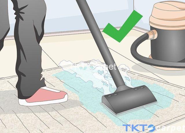 thuê máy giặt thảm hơi nước nóng và tự tay giặt thảm len tại nhà