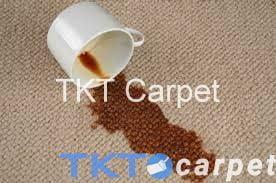 vết cà phê đổ trên thảm của TKT Carpet