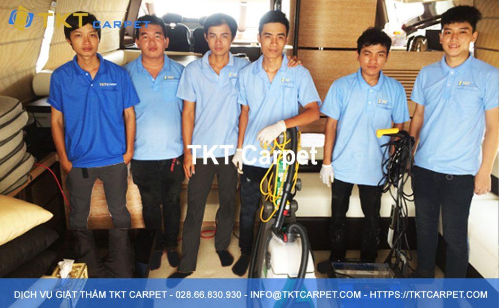 dịch vụ giặt thảm TKT Carpet