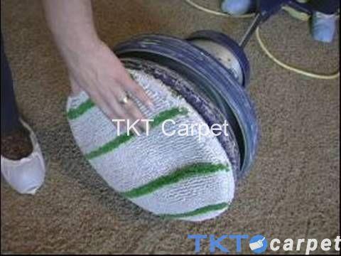 Phương pháp giặt thảm Bonnet