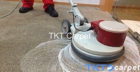 Phương pháp giặt thảm gội thảm sử dụng bàn chà