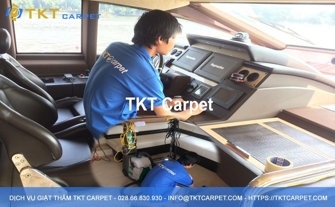 dịch vụ giặt thảm Quận 2 HCM TKT Carpet