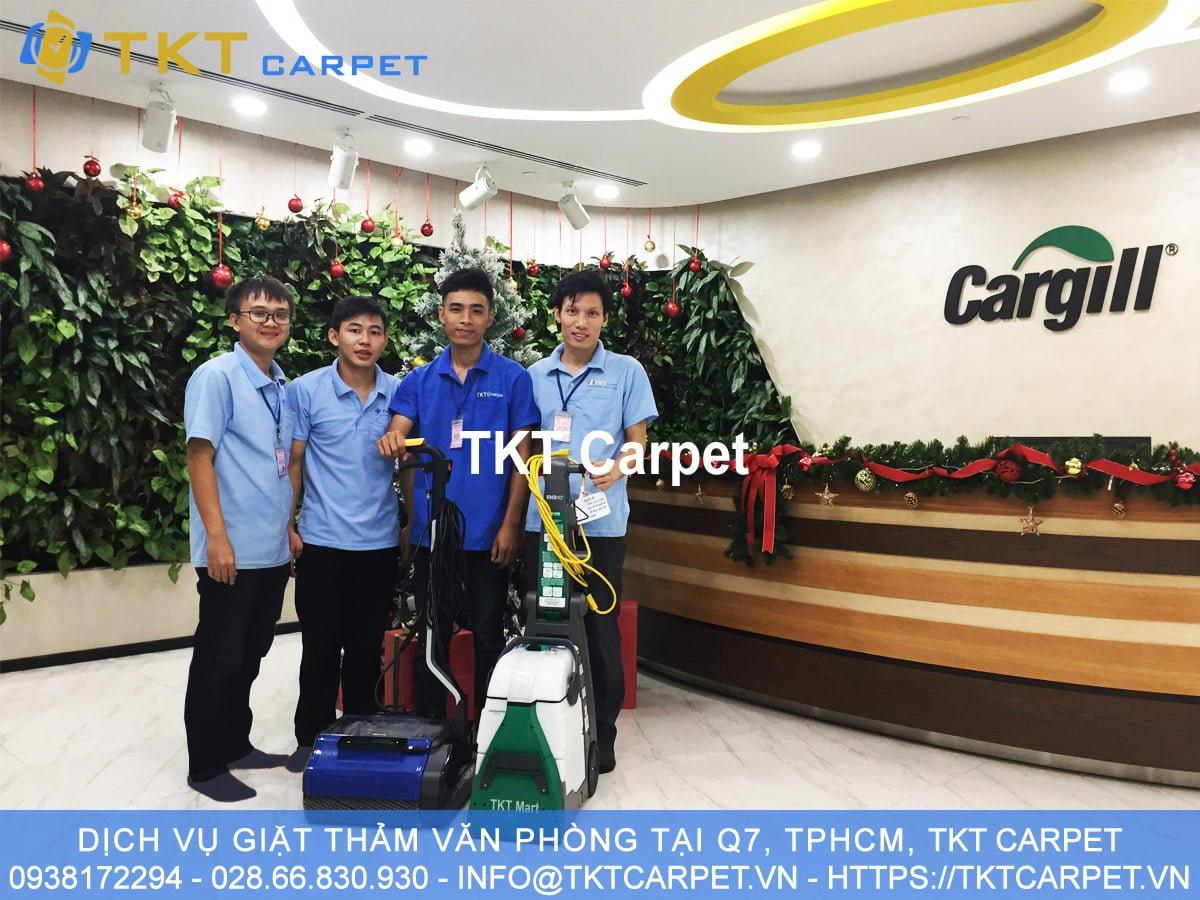 dịch vụ giặt thảm Q7 TPHCM TKT Carpet