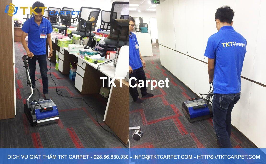 dịch vụ giặt thảm Quận Bình Thạnh TPHCM TKT Carpet