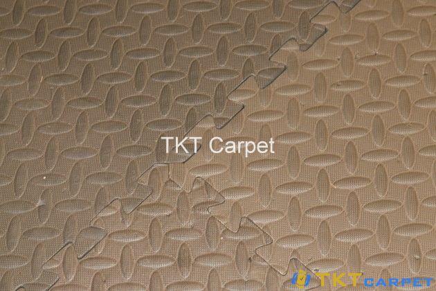 thảm xốp ghép tấm cần được làm khô