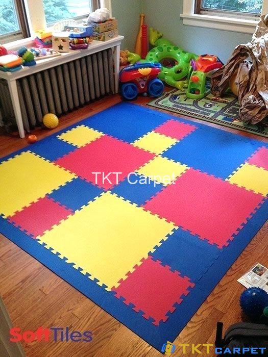 thảm xốp ghép tấm sử dụng nhiều nhất cho trẻ nhỏ