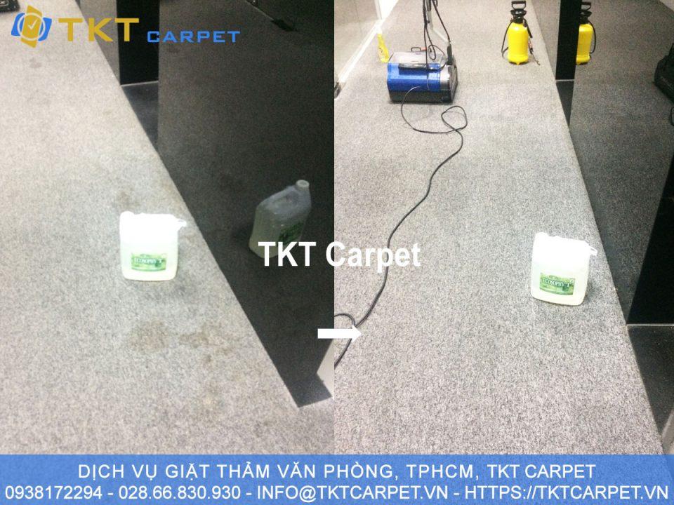 giặt thảm công nghệ Xanh KH IMV Q7, TPHCM