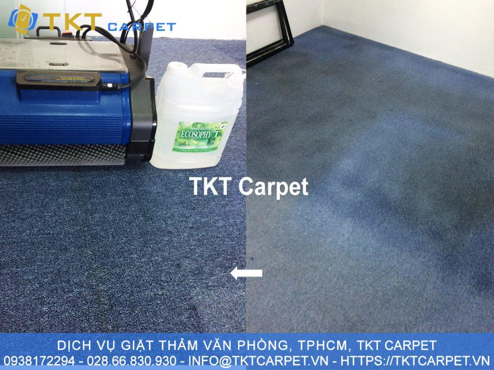 Dịch vụ giặt thảm Xanh KH Steelman Partner Q1 TPHCM