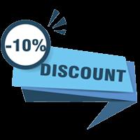 giảm giá giặt thảm 10%