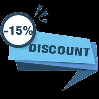 giảm giá giặt thảm 15%
