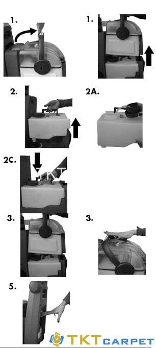 Hướng dẫn sử dụng máy giặt thảm văn phòng