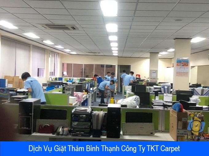 giặt thảm quận Bình Thạnh