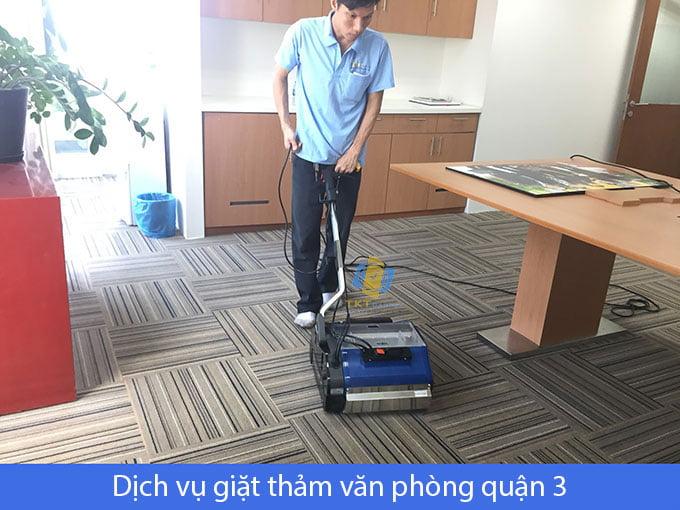 dịch vụ giặt thảm văn phòng quận 3