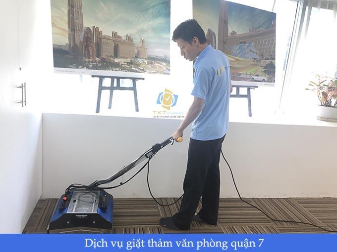 giặt thảm văn phòng quận 7