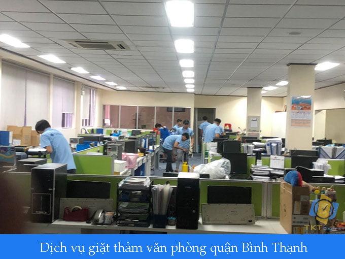 giặt thảm văn phòng quận Bình Thạnh