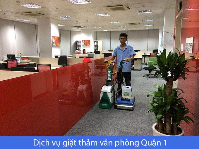 dịch vụ giặt thảm văn phòng quận 1