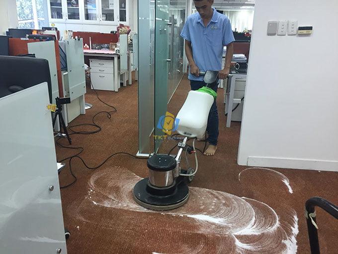 Dịch vụ giặt thảm công nghiệp