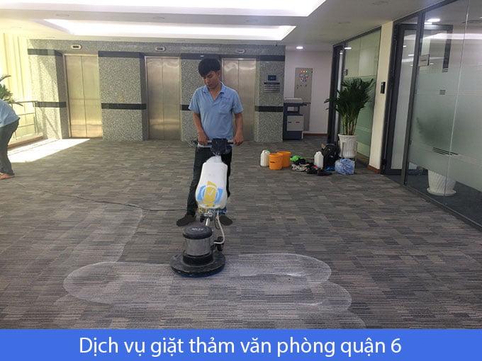 giặt thảm văn phòng quận 6