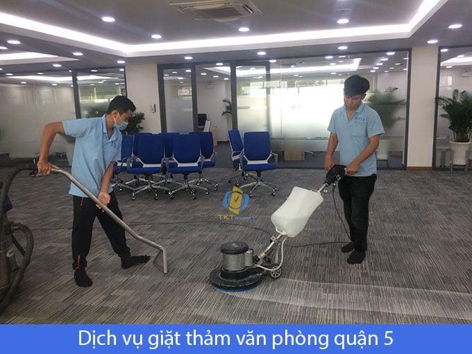 giặt thảm văn phòng quận 5