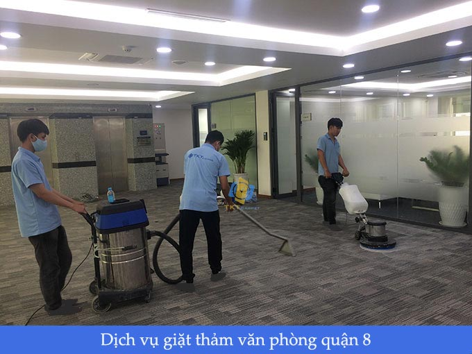 dịch vụ giặt thảm văn phòng quận 8