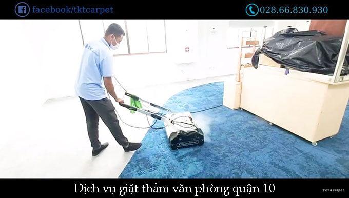 giặt thảm văn phòng quận 10