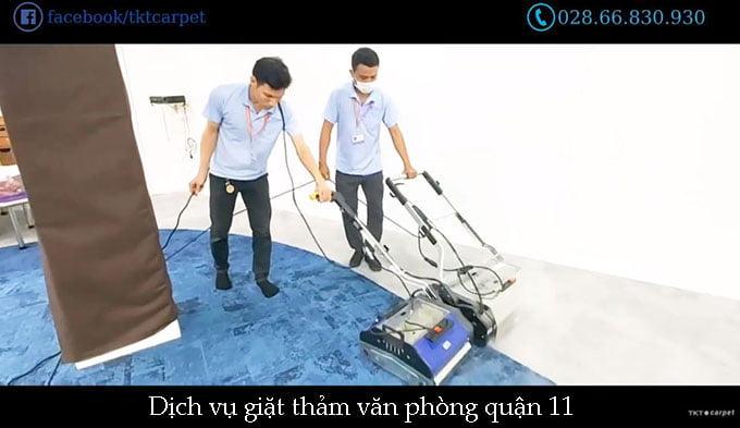 giặt thảm văn phòng quận 11