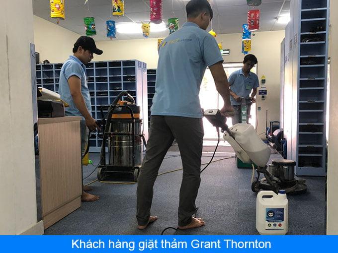 khách hàng giặt thảm grant thornton