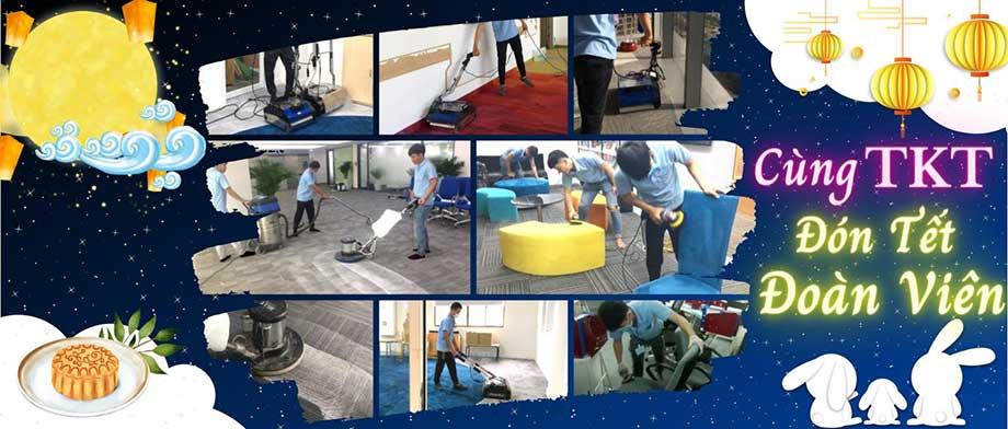 Chương trình khuyến mại giặt thảm tết đoàn viên Trung Thu TKT Carpet