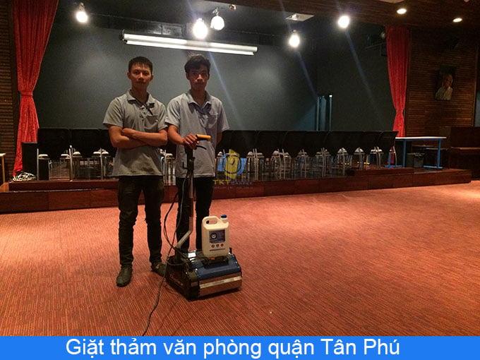 giặt thảm văn phòng Tân Phú
