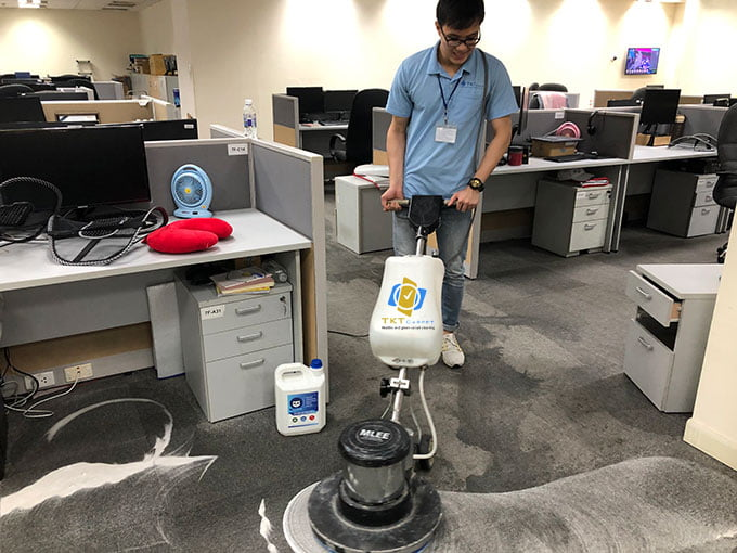phương pháp giặt thảm