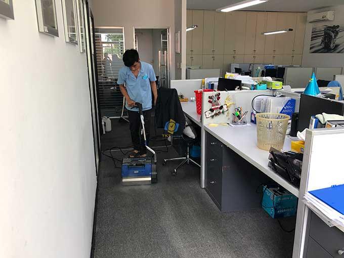 khách hàng giặt thảm công ty sapporo