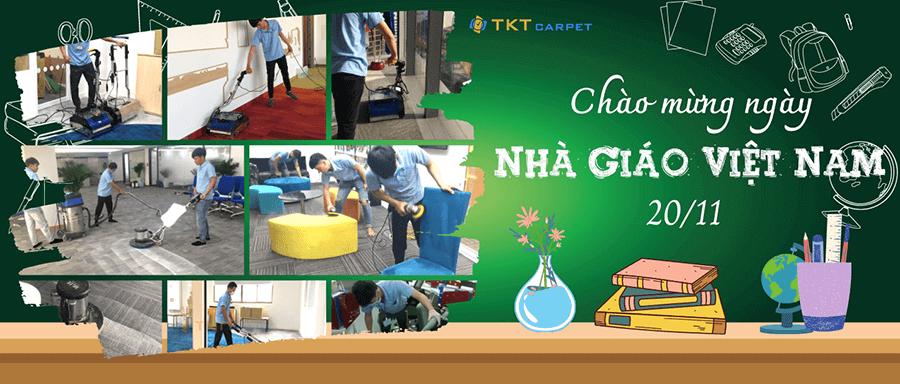 giặt thảm nhà giáo Việt Nam