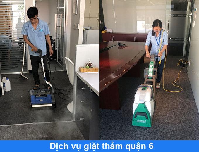 dịch vụ giặt thảm tại nhà quận 6