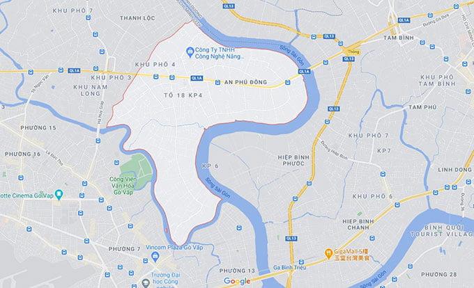 Phường An Phú Đông Quận 12