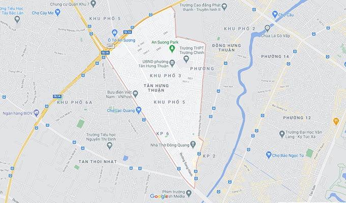 Phường Tân Hưng Thuận quận 12