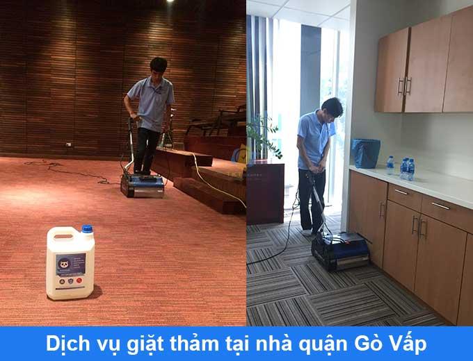 Giặt thảm tại nhà Gò Vấp