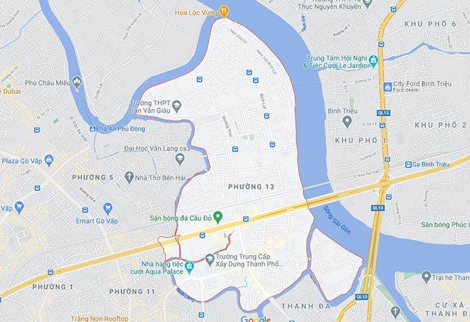 Phường 13 quận Bình Thạnh