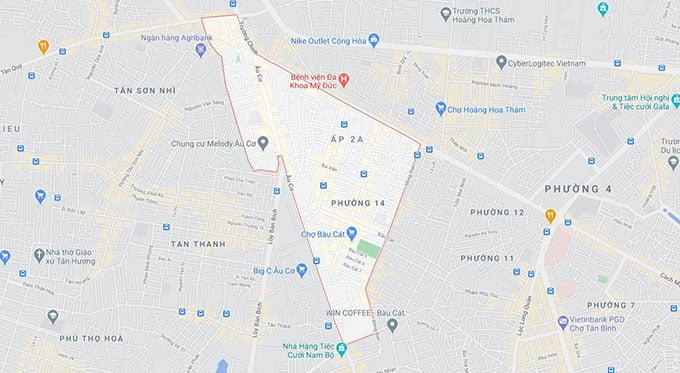 phường 14 quận Tân Bình
