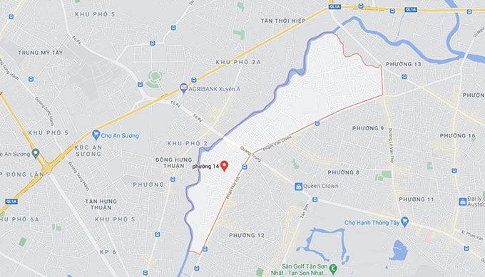 Phường 14 quận Gò Vấp