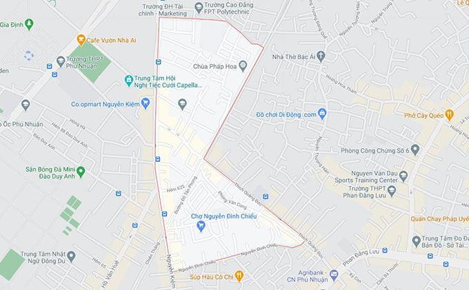 Phường 4 quận Phú Nhuận