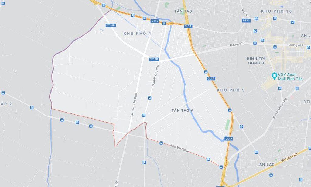 Phường Tân Tạo A quận Bình Tân