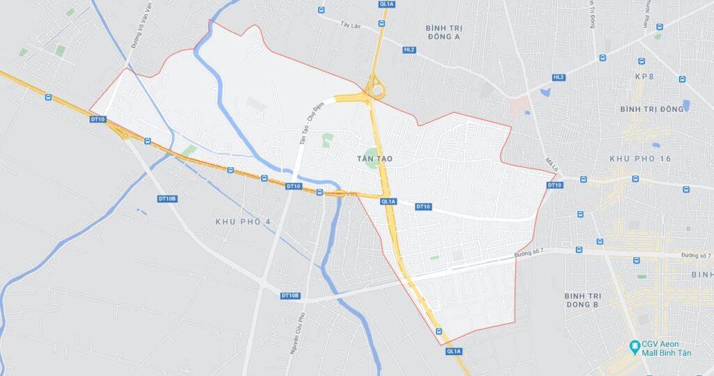 Phường Tân Tạo quận Bình Tân