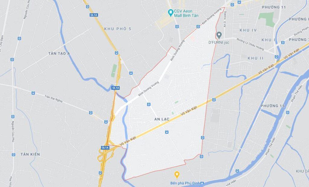 Phường An Lạc quận Bình Tân