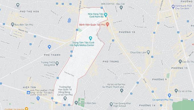 Phường Hòa Thạnh Quận Tân Phú