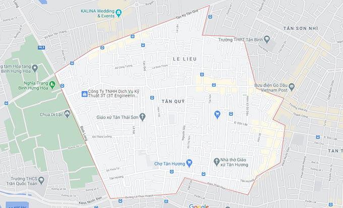 Phường Tân Quý Quận Tân Phú